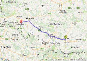 Trasa Kraków - Świebodzice