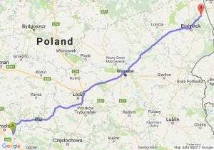 Jelcz-Laskowice (dolnośląskie) - Sokółka (podlaskie)