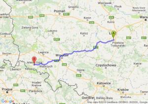 Trasa Rzgów - Jelenia Góra