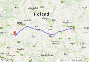 Otwock (mazowieckie) - Leszno (wielkopolskie)