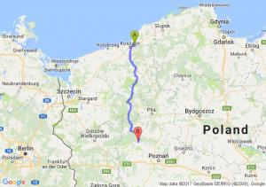 Sianów (zachodniopomorskie) - Wronki (wielkopolskie)