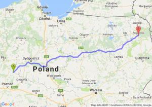 Wągrowiec (wielkopolskie) - Augustów (podlaskie)