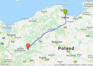 Trasa Gdańsk - Drezdenko