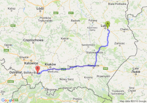 Świdnik (lubelskie) - Andrychów (małopolskie)