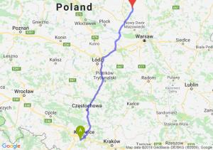 Trasa Mikołów - Ciechanów