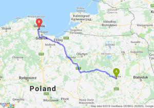 Trasa Łomża - Gdynia