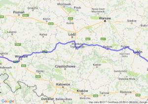 Złotoryja (dolnośląskie) - Krasnystaw (lubelskie)