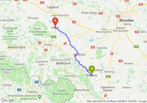 Trasa Bielawa - Jawor