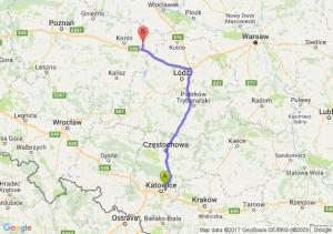 Sosnowiec (śląskie) - Koło (wielkopolskie)