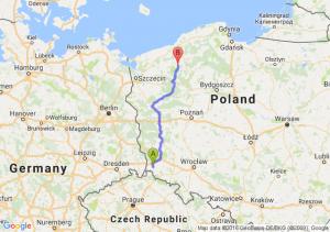 Lubań (dolnośląskie) - Barwice (zachodniopomorskie)