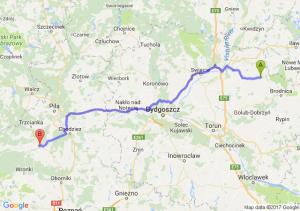 Jabłonowo Pomorskie (kujawsko-pomorskie) - Czarnków (wielkopolskie)