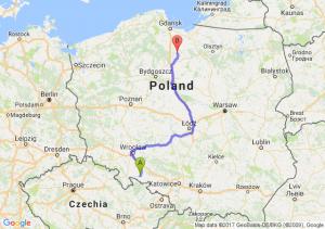 Trasa Nysa - Kwidzyn