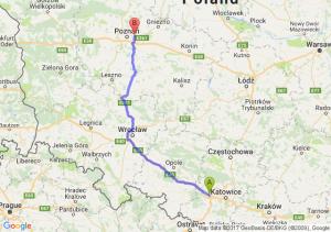Gliwice (śląskie) - Swarzędz (wielkopolskie)
