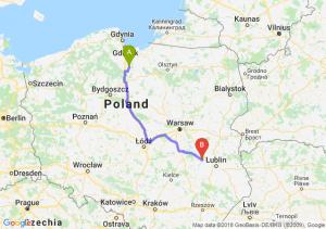 Trasa Gniew - Puławy