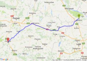 Gostynin (mazowieckie) - Leszno (wielkopolskie)