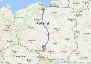 Trasa Gniew - Zabrze