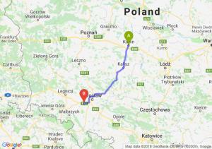 Trasa Konin - Kąty Wrocławskie