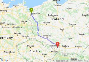 Trasa Szczecin - Żory