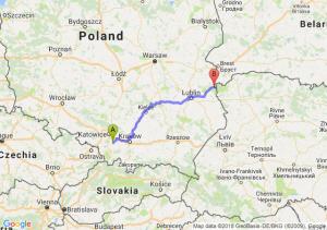 Trasa Oświęcim - Włodawa