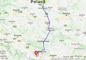 Trasa Lipno - Rybnik