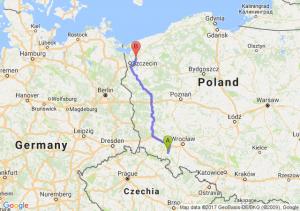 Trasa Świebodzice - Goleniów