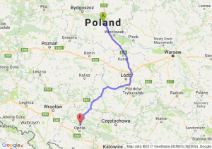 Aleksandrów Kujawski (kujawsko-pomorskie) - Opole (opolskie)