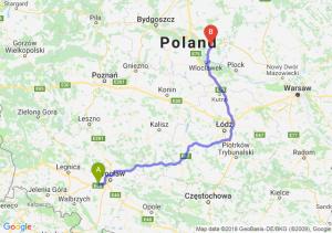 Trasa Kąty Wrocławskie - Lipno