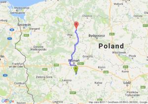 Śrem (wielkopolskie) - Złotów (wielkopolskie)