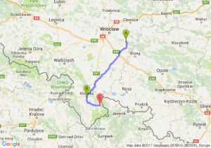 Jelcz-laskowice (dolnośląskie) - Kłodzko (dolnośląskie) - Lądek-zdrój