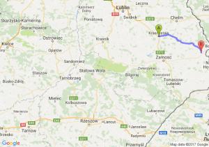 Krasnystaw  - Hrubieszów (lubelskie)