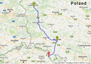 Gorzow - Wroclaw - Zieleniec