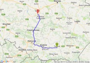 Trasa Tarnów - Rzgów