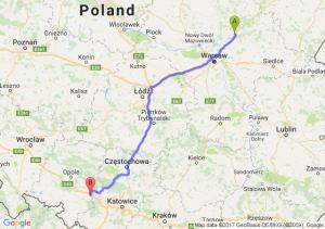 Wyszków (mazowieckie) - Ujazd (opolskie)