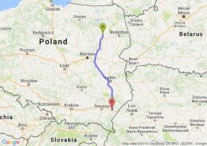 Trasa Łomża - Jarosław