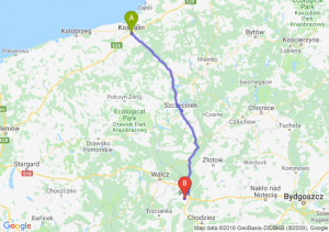 Trasa Koszalin - Piła