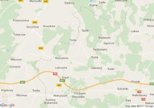 Zbiersk (wielkopolskie) - Pyzdry (wielkopolskie) - Swarzędz (wielkopolskie)