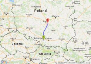 Oświęcim (małopolskie) - Stefanów (koło Rokicin)