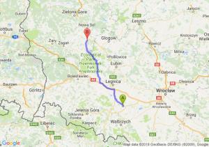 Trasa Strzegom - Nowe Miasteczko