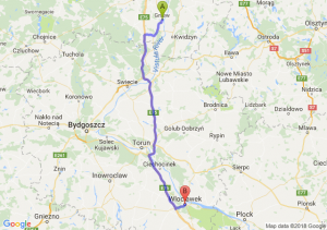 Trasa Gniew - Włocławek