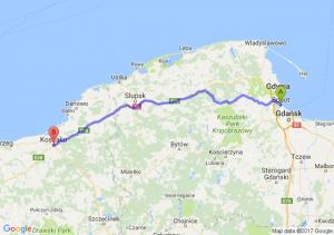 Sopot (pomorskie) - Koszalin (zachodniopomorskie)