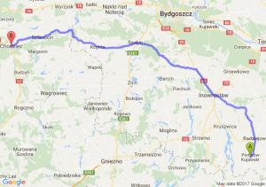 Piotrków Kujawski (kujawsko-pomorskie) - Chodzież (wielkopolskie)