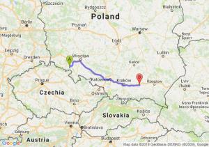 Trasa Wałbrzych - Tarnów
