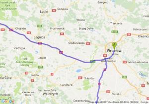 Wrocław (dolnośląskie) - Bardo ŚlĄskie - Zgorzelec (dolnośląskie)