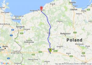 Puszczykowo (wielkopolskie) - Koszalin (zachodniopomorskie)