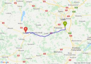 Trasa Rzgów - Sieradz
