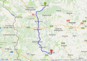 Trasa Drezdenko - Głogów