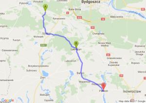 Tur Kujawsko Pomorskie - Łabiszyn (kujawsko-pomorskie) - Pakosc
