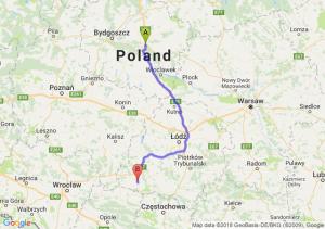 Trasa Lubicz Dolny - Wieluń