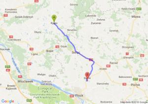 Trasa Rypin - Bielsk