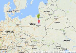 Korsze (warmińsko-mazurskie) - Lutry (warmińsko-mazurskie) - Czerwonka
